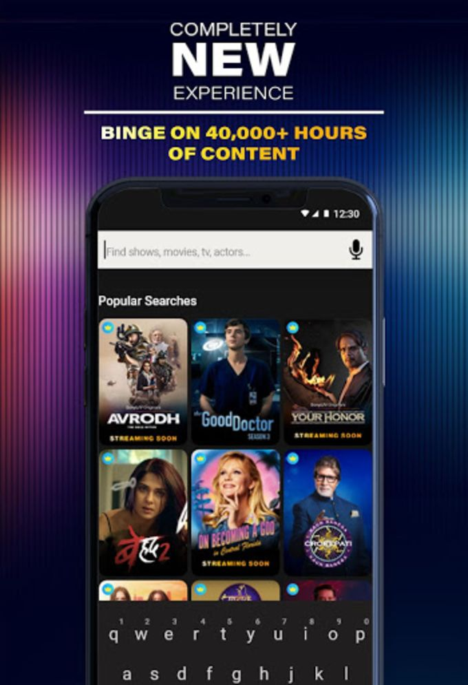 SonyLIV:TV Shows Movies Sports