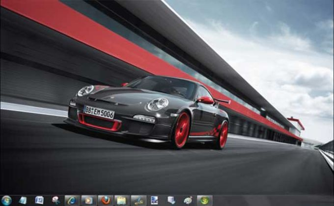 Tema Porsche para Windows 7