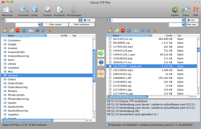 Classic FTP for Mac
