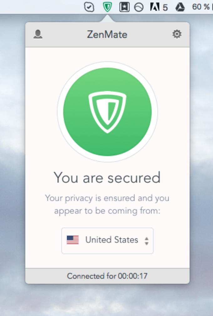 ZenMate Desktop VPN