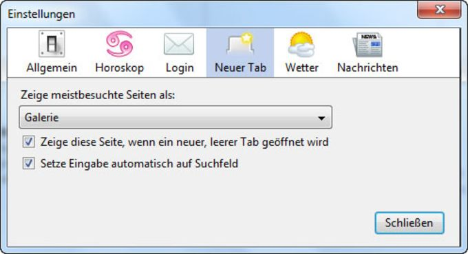 WEB.DE-Toolbar