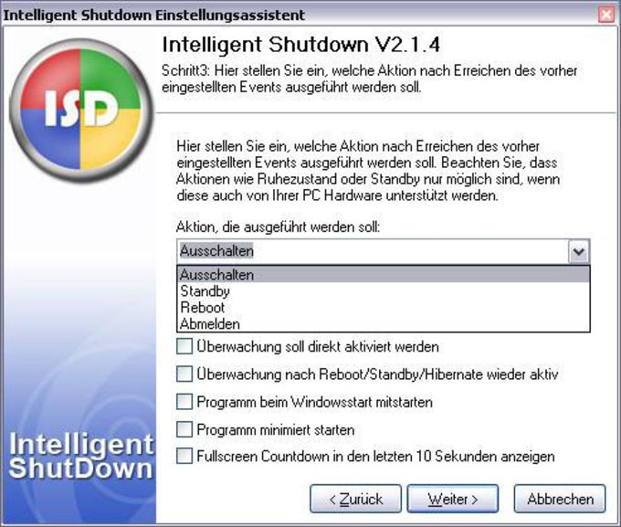 Intelligent Shutdown