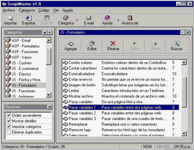 ScriptMaster