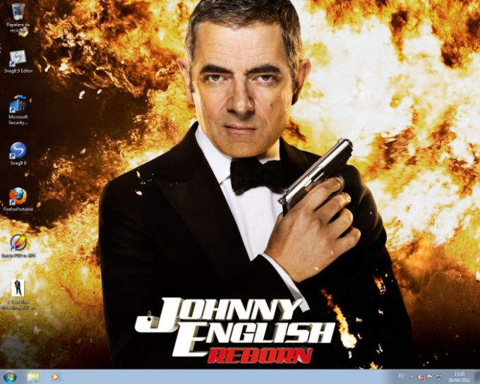 Johnny English Returns Wallpaper