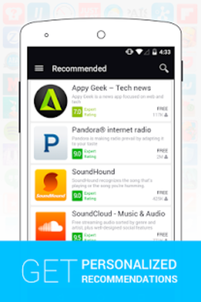 Appszoom - Las mejores apps