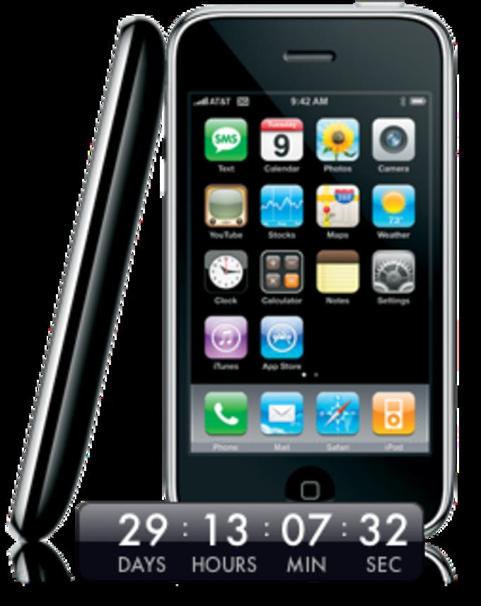 iPhone 3G Day Widget