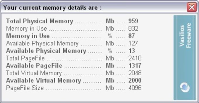 Instant Memory Cleaner