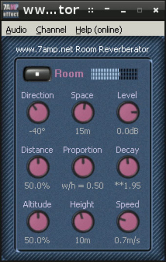 Room Reverb VST plugin