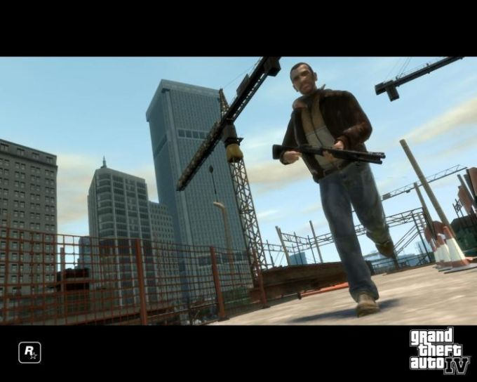 Grand Theft Auto IV Screenshot Screensaver
