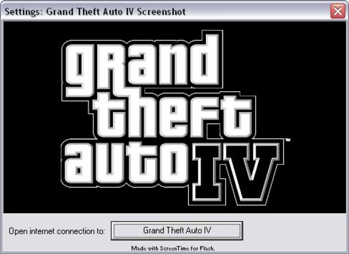 Grand Theft Auto (GTA) IV Screensaver