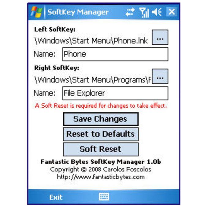 SoftKey Manager