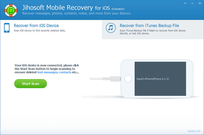 Jihosoft Mobile Recovery for iOS