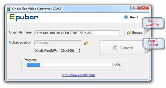 Epubor Kindle Video Converter