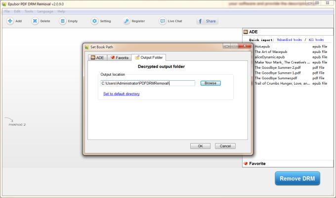 Epubor PDF DRM Removal