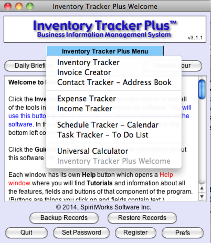 Inventory Tracker Plus