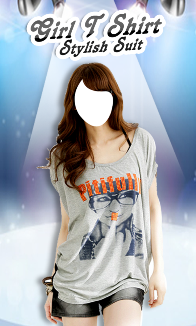 Girl T Shirt Stylish Suit