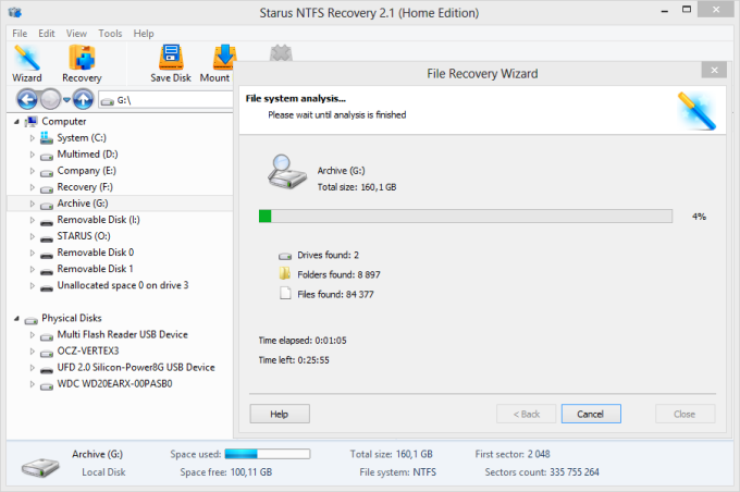 Starus NTFS Recovery