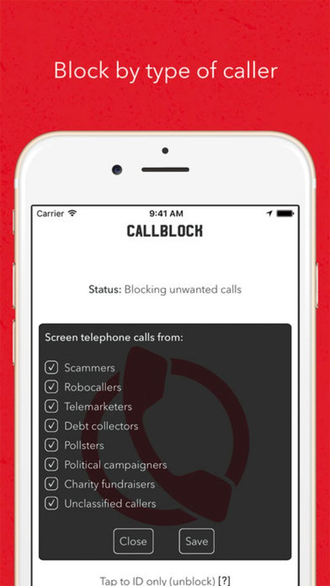 Callblock: Adblock for unwanted calls