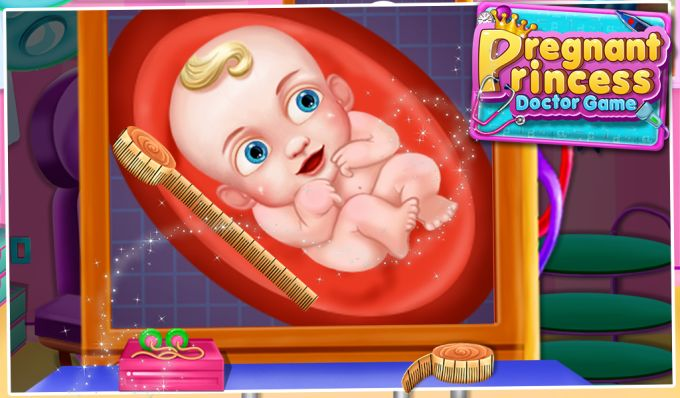 Pregnant Princess Doctor Game
