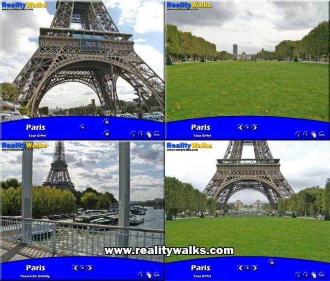 Paris EiffelTower - MiniWalk