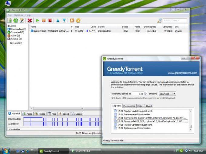 GreedyTorrent
