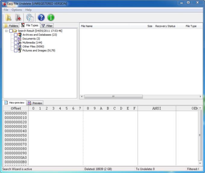Easy File Undelete