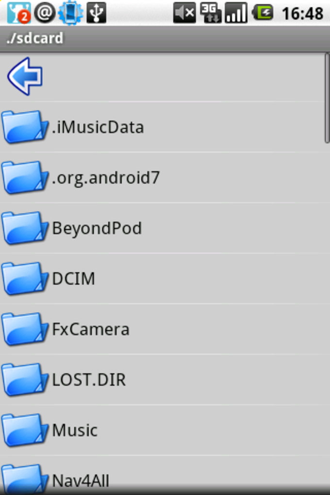 AndroZip™ File Manager
