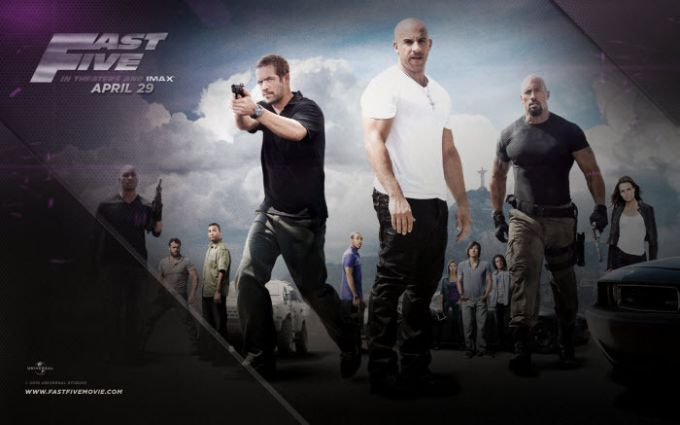 Fast Five Wallpaper