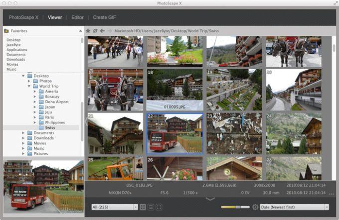 Photoscape X pour Mac