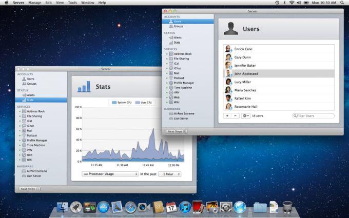 OS X Lion Server