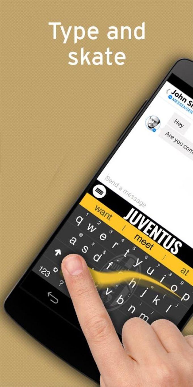 Juventus FC Official Keyboard