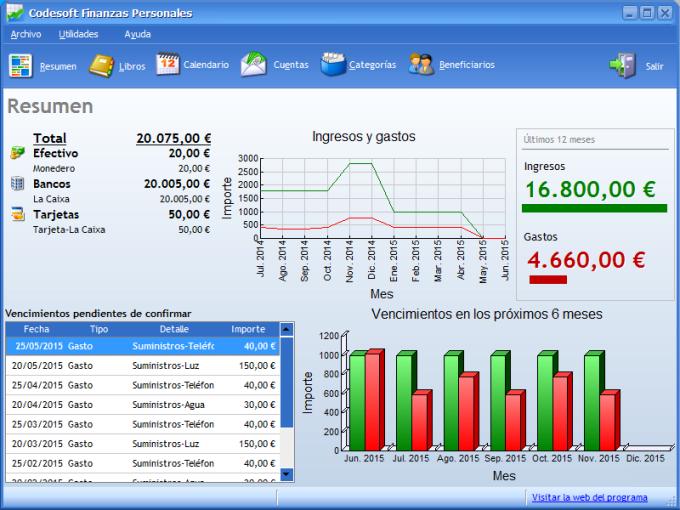 Codesoft Finanzas Personales