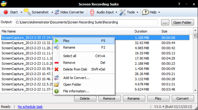 Screen Recording Suite