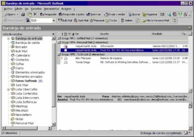 MailFiler for Outlook