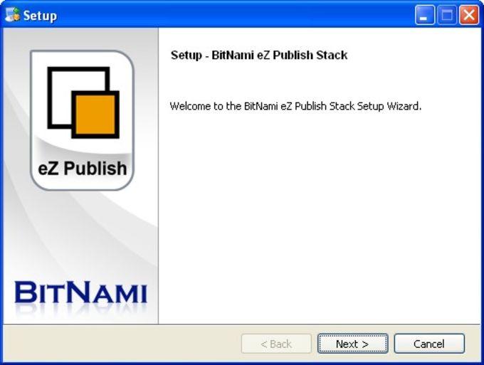 BitNami eZPublish Stack