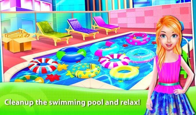 Girl Hotel Hostess Resort Paradise