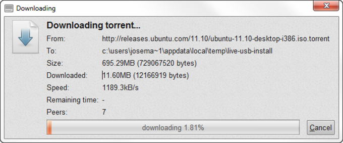 LiveUSB Install