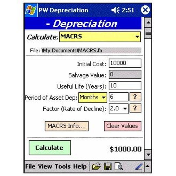 PocketWear Financial Analyzer