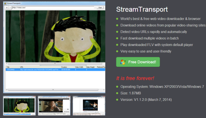 StreamTransport