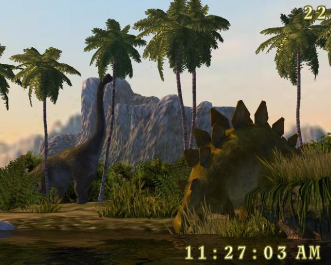 Dinosaurs 3D Screensaver