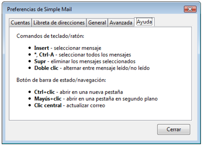 Simple Mail
