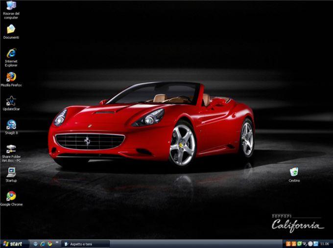 Ferrari California Wallpaper