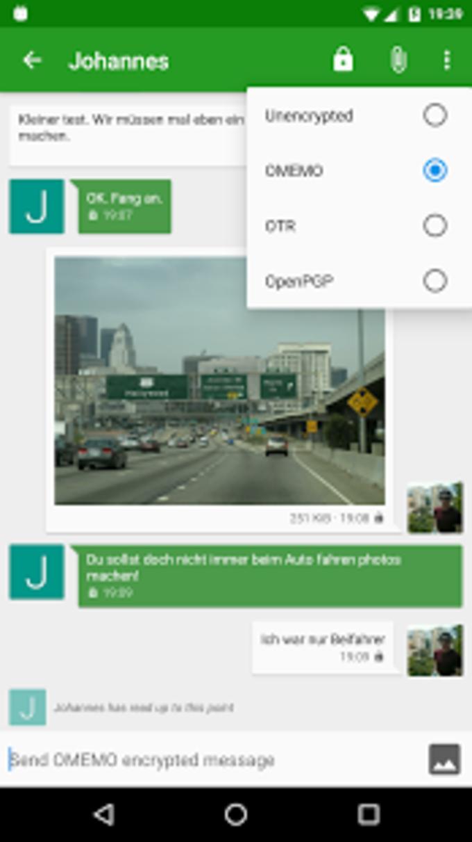 Conversations (Jabber / XMPP)