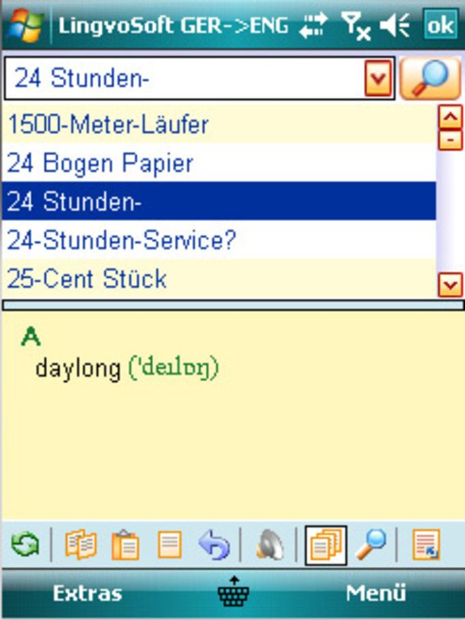 LingvoSoft Talking Dictionary 2008 Deutsch-Englisch