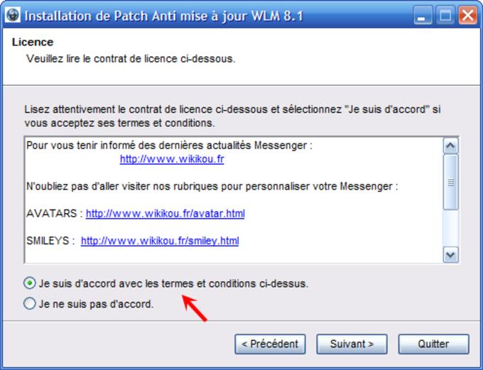 Anti-Aktualisierungs-Patch