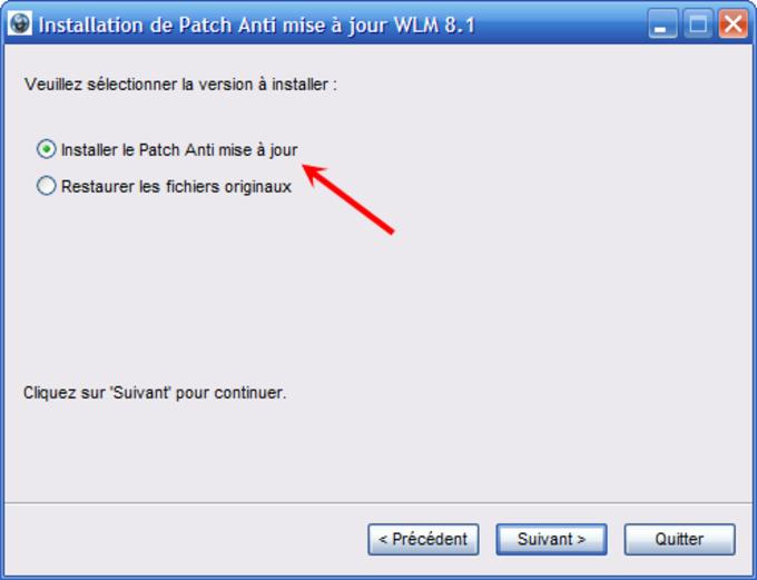 Anti-actualización para Windows Live Messenger 8.1