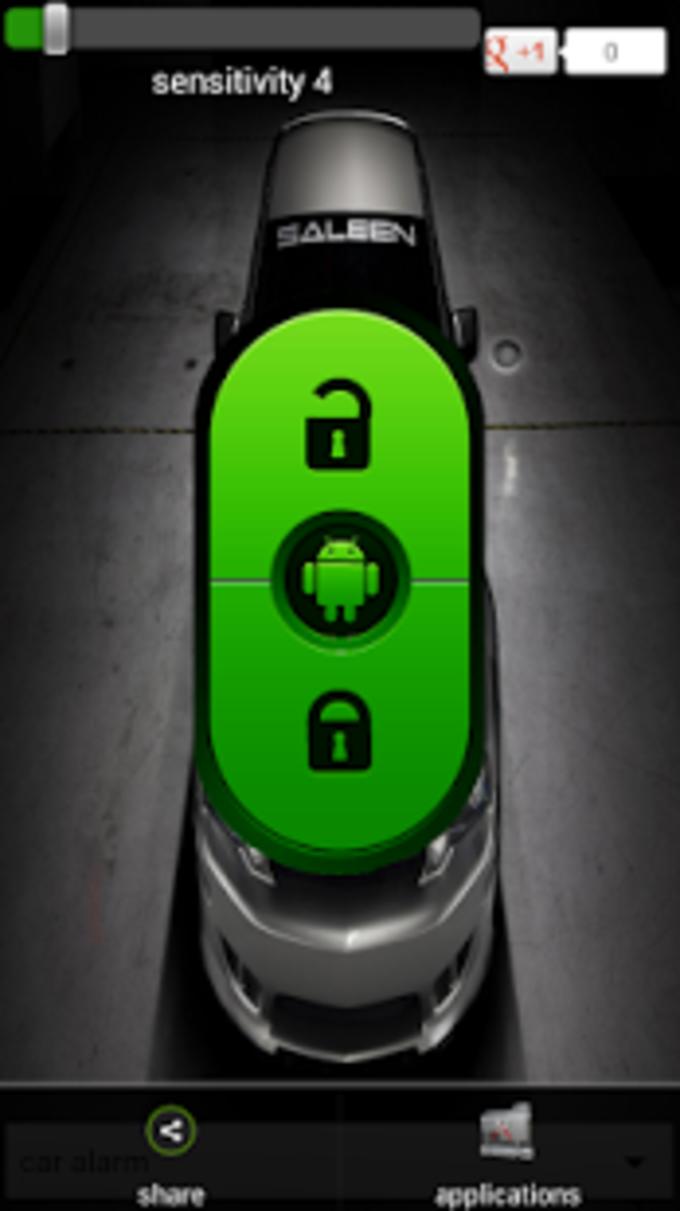 Alarma de auto seguridad