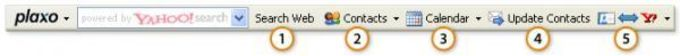 Plaxo Toolbar for Internet Explorer