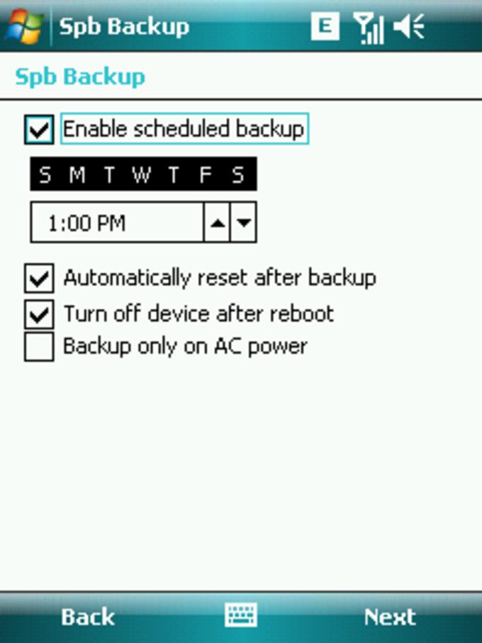 SPB Backup