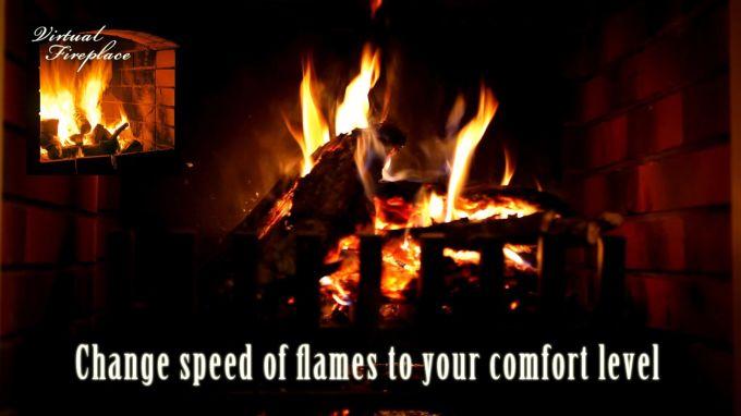Virtual Fireplace